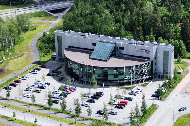 Apollo Business Center Espoo Ilmakuva